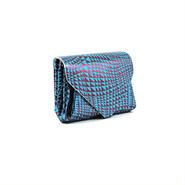 レザーミニウォレット ビーム ブルー  【Mini Wallet BEAM Blue】