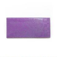 フラットパスポートケース ジグザグ パープル【Passport Case Purple】