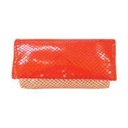 スムースウォレット【Smooth Wallet Clear Orange】クリア オレンジ