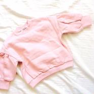 kids★volume sleeve pullover
