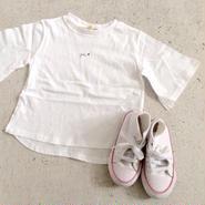 "kids★""YOU""flare sleeve T-shirt"