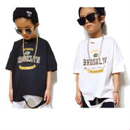 kids★Brooklyn damage T-shirt