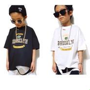 kids★Brooklyn damage T-shirt