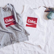 kids★COKE tank tops