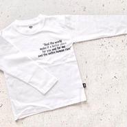"kids★monotone ""MJ""print pullover"