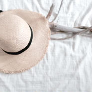 kids★fringe straw hat