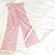 kids★slit wide pants