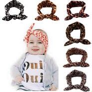 kids★leopard hair band