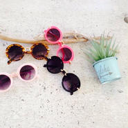 kids★colorful circle sunglasses