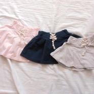 kids★corset風 laceup flare skirt