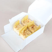 スクエアチーズケーキ 4個入【sqc-4】