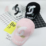 可愛い帽子 シャネル風 パロディー 三色選択 いきなり購入OK!