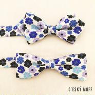 flower stone bow tie