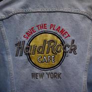 HARDROCK CAFE /ハードロックカフェ デニムジャケット リーボディ 80年代 (USED)