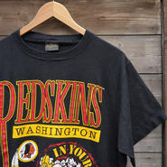 REDSKINSxTAZ/レッドスキンズxタズ Tシャツ 91年 Made In USA (USED)