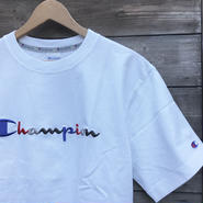 Champion/チャンピオン ロゴ刺繍 Tシャツ 2017FW (NEW)