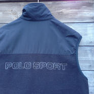 POLOSPORT/ポロスポーツ ボアフリースベスト 90年代  Made In USA (USED)