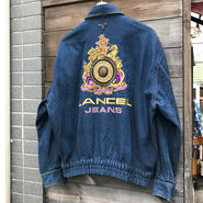 LANCEL/ランセル デニムジャケット 豪華刺繍 90年代  (USED)