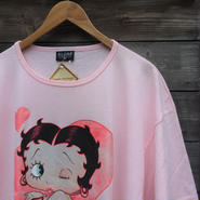 BETTY BOP/ベティ Tシャツワンピース 2004年 Made In USA (DEADSTOCK)