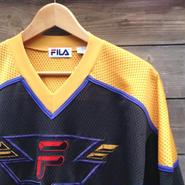 FILA/フィラ メッシュ ホッケーシャツ 90年代 (USED)