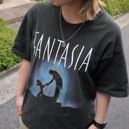 DISNEY FANTASIA/ディズニー ファンタジア Tシャツ 90年代 Made In USA (USED)