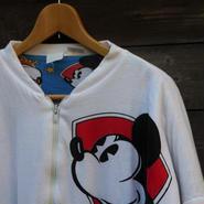 MICKEY MOUSE/ミッキーマウス 中綿リバーシブルクルーネック 80~90年代 (USED)