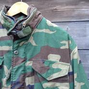 M-65 フィールドジャケット ウッドランドカモフラージュ 80年代  (USED)