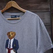 PoloRalphLauren/ポロラルフローレン ベアー柄 Tシャツ 2000年代 (USED)