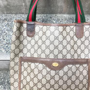 GUCCI/グッチ GG柄トートバッグ 90年前後 Made In ITALY (USED)