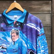 LAZIO GASCOIGNE/ラッツィオ ガスコイン サッカーポロシャツ 90年代 Made In ITALY (DEADSTOCK)