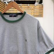 POLOSPORT/ポロスポーツ リンガーTシャツ 2000年前後 (DEADSTOCK)