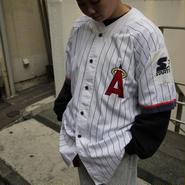 STARTER ANGELES/スターター エンジェルス ベースボールシャツ 90年代 (USED)