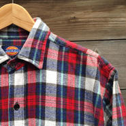 DICKIES/ディッキーズ チェックネルシャツ 90年代 (USED)