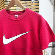 NIKE/ナイキ スウォッシュ ロゴTシャツ 90年前後 (USED)