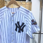 MAJISTIC NY YANKEES/マジェスティック ニューヨークヤンキース ベースボールシャツ 22クレメンス Made In USA (USED)
