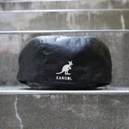 KANGOL/カンゴール レザーハンチング  80年代 Made In USA (USED)