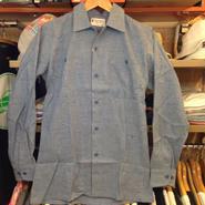Grenn Berry chambray shirts(DEADSTOCK)