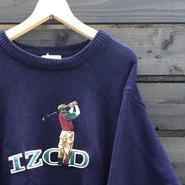 IZOD/アイゾッド コットンセーター  90年代 (USED)