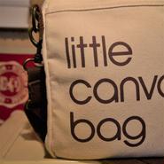 bloomindales/ブルーミングデールズ little canvas bag 2000年代 (USED)