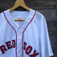 Majestic BOSTON RED SOX /マジェスティック ボストンレッドソックス ベースボールシャツ Made In KOREA (DEADSTOCK)