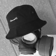 CHANNEL 420 Logo Hat (Black/White)    ¥4200(税抜)