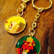 ▲▼version collaboration▼▲ lion key holder