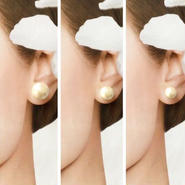 【BASIC】cottonpearl pierce/earring