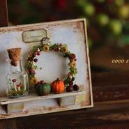 秋いっぱいのプレート