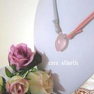 *薔薇の雫*rose quartz**