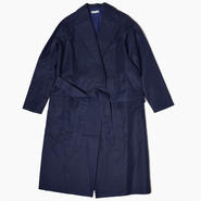 Wrapped trench coat * Navy