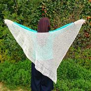 fly kite shawl(フライカイトショール)
