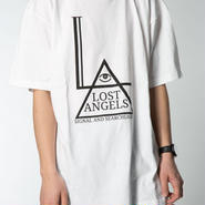 Lost Angels Tee Mens White