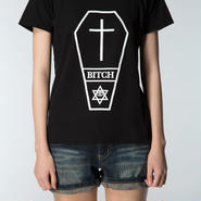 Coffin of the Bitch Tee Girls