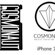 COSMONAUT SAS LOGO BLACK iPhone Case